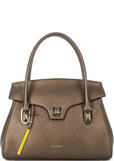 Кожаная сумка с откидным клапаном Cromia