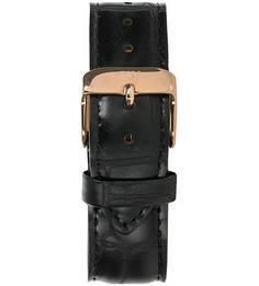 Кожаный ремешок для часов с выделкой под рептилию Daniel Wellington