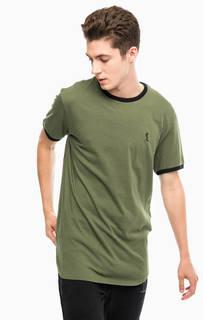 Хлопковая футболка с короткими рукавами Religion