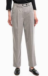 Зауженные серые брюки Marc Opolo