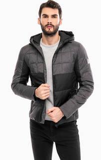 Демисезонная куртка на молнии с капюшоном Calvin Klein Jeans