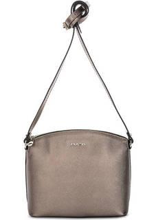 Кожаная сумка на молнии через плечо Fiato