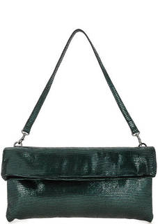 Кожаная сумка с выделкой под рептилию Gianni Chiarini