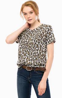 Трикотажная футболка с животным принтом Levis®