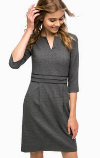 Платье в горошек средней длины More & More