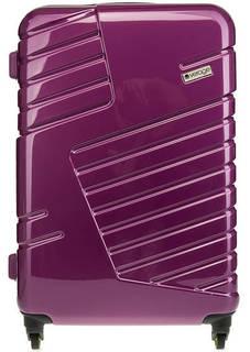 Фиолетовый чемодан на колесах Verage