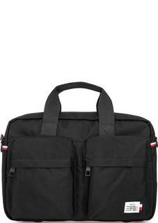 Черная сумка с отделением для ноутбука Tommy Hilfiger