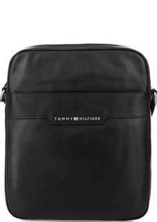 Кожаная сумка с одним отделом Tommy Hilfiger