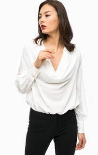 Блуза-боди с драпированным воротом Marciano Guess