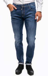 Синие джинсы скинни Antony Morato