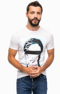 Хлопковая футболка с круглым вырезом Antony Morato