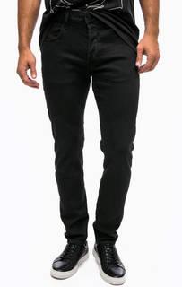 Зауженные черные джинсы на болтах G Star RAW