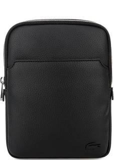 Маленькая черная сумка через плечо Lacoste