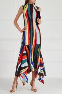 Комбинированное платье Solace