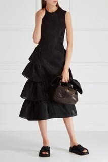 Платье с воланами Simone Rocha