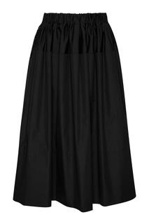Хлопковая юбка-миди Simone Rocha