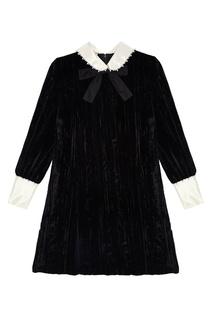 Бархатное платье Miu Miu