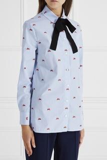 Хлопковая рубашка Gucci