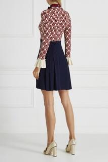 Комбинированное платье Gucci
