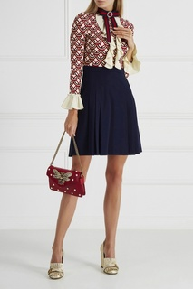 Кожаная сумка Broadway Gucci