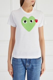 Хлопковая футболка Comme des Garcons Play