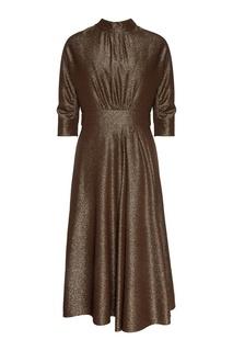 Платье с люрексом Prada