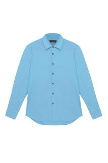 Хлопковая рубашка Prada