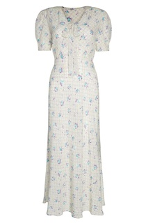 Шелковое платье Miu Miu