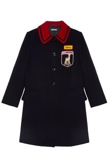 Шерстяное пальто Miu Miu