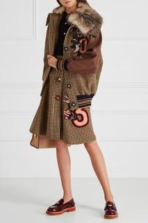 Шерстяная куртка Miu Miu