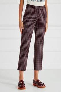 Шерстяные брюки Miu Miu