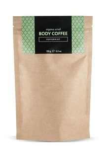 Аргановый скраб Body_Coffee Peppermint, 150 g Huilargan