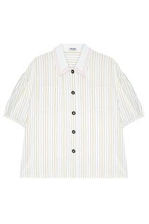 Шелковая блузка Miu Miu