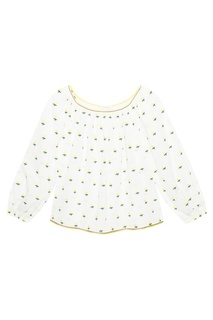 Хлопковая блузка Marc Jacobs