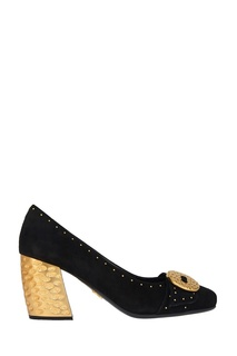 Замшевые туфли Prada