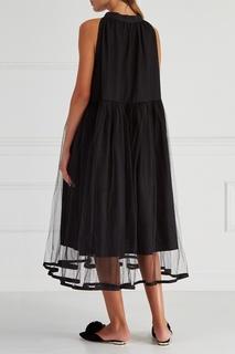 Комбинированное платье Ivka