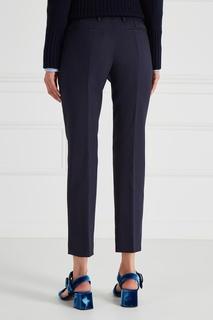 Шерстяные брюки Prada