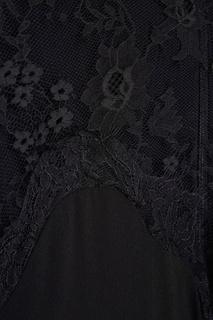 Платье с кружевом Carven