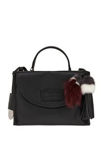 Кожаная сумка Santoni