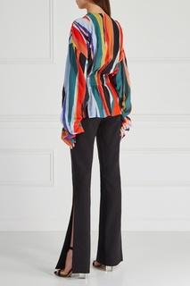 Комбинированная блузка Solace
