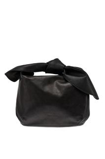 Кожаная сумка-хобо Simone Rocha