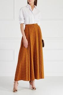 Шелковая юбка Diane von Furstenberg