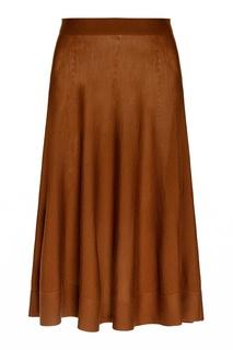 Шерстяная юбка Lanvin