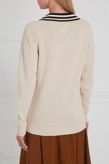 Шерстяной пуловер Lanvin