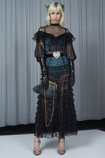 Платье из кружева Alessandra Rich