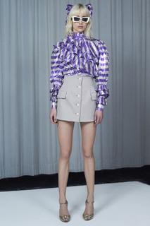 Блузка в полоску Alessandra Rich