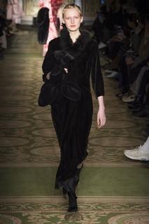 Бархатное платье Simone Rocha