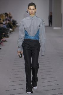 Комбинированная блузка Balenciaga