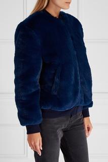 Меховая куртка-бомбер Golden Goose Deluxe Brand