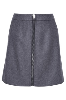 Шерстяная юбка Suraya Flannel Acne Studios